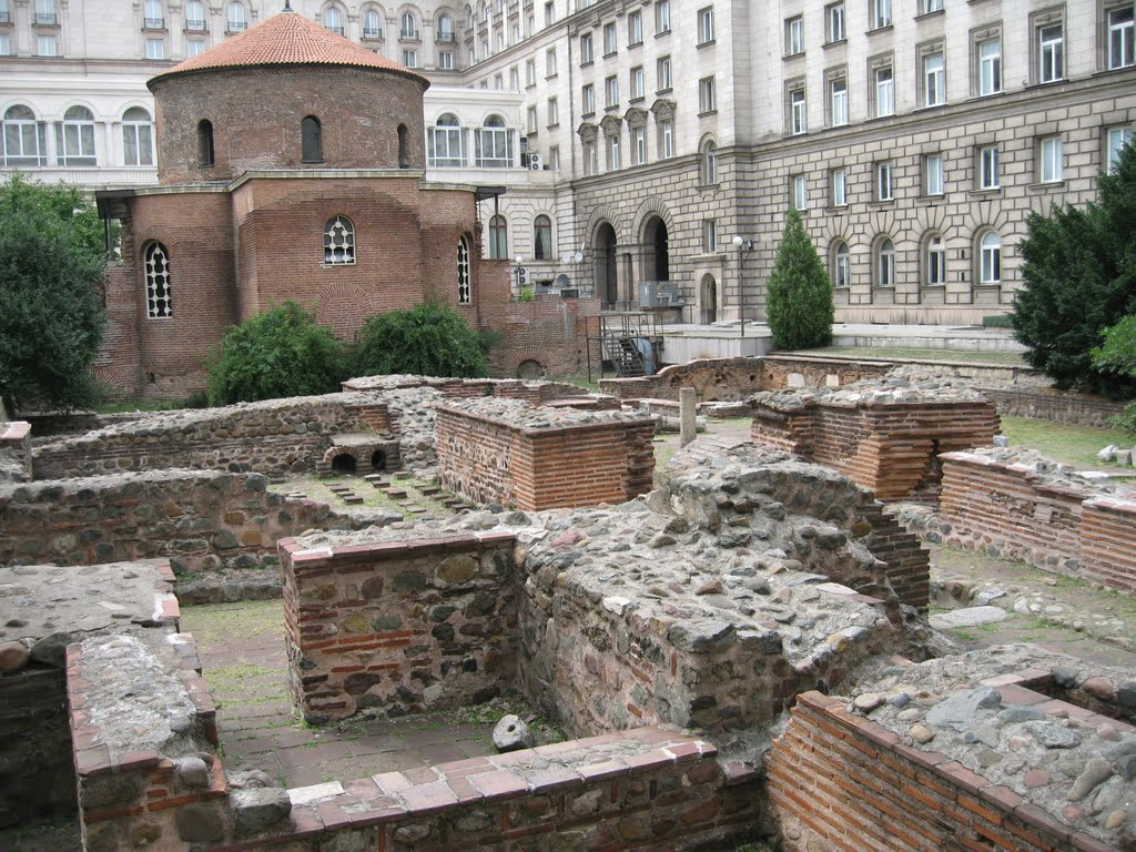 Roman Remains In Sofia